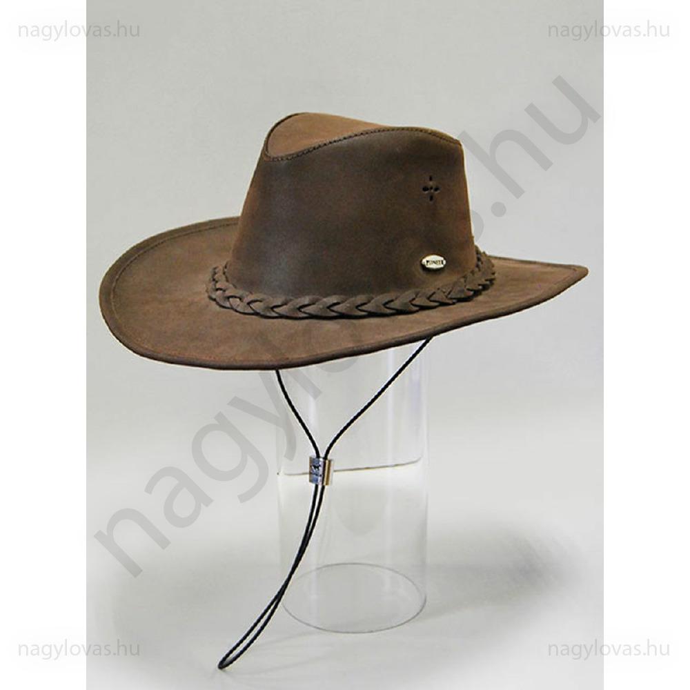 13af8b1c04 Pioneer western bőrkalap - Webshop - Nagy Lovas Áruház