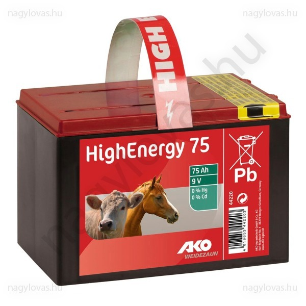 HighEnergy75 elem 9V/75Ah